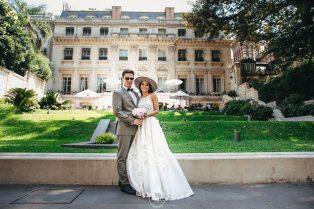 Retrato de novios, casamiento en Palacio Duhau Park Hyatt Bs As, fotoperiodismo de bodas, Norman Parunov