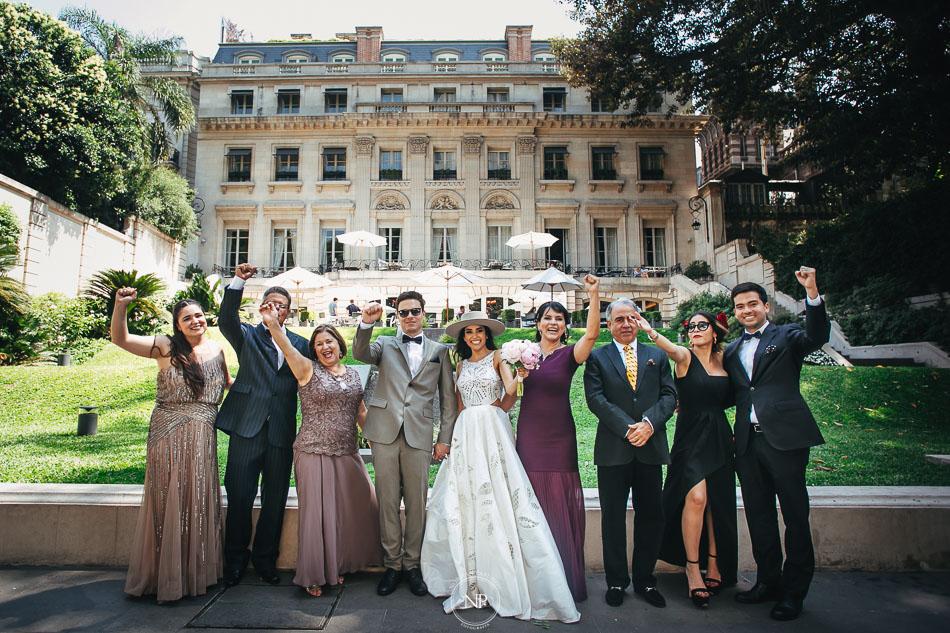 Retrato familiar, casamiento en Palacio Duhau Park Hyatt Bs As, fotoperiodismo de bodas, Norman Parunov