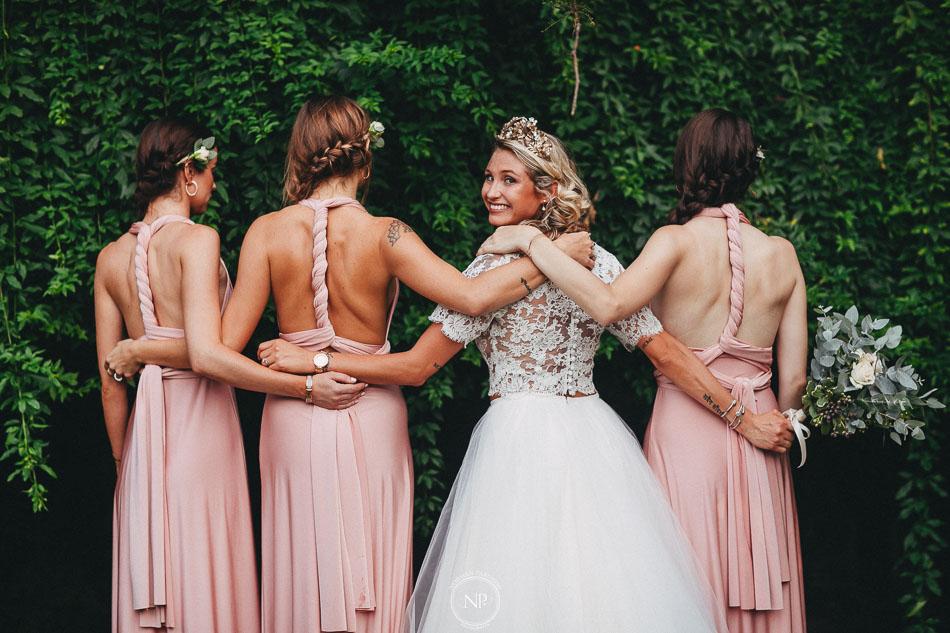 damas de honor, casamiento al atardecer en Estancia La Linda, fotoperiodismo de bodas, Norman Parunov