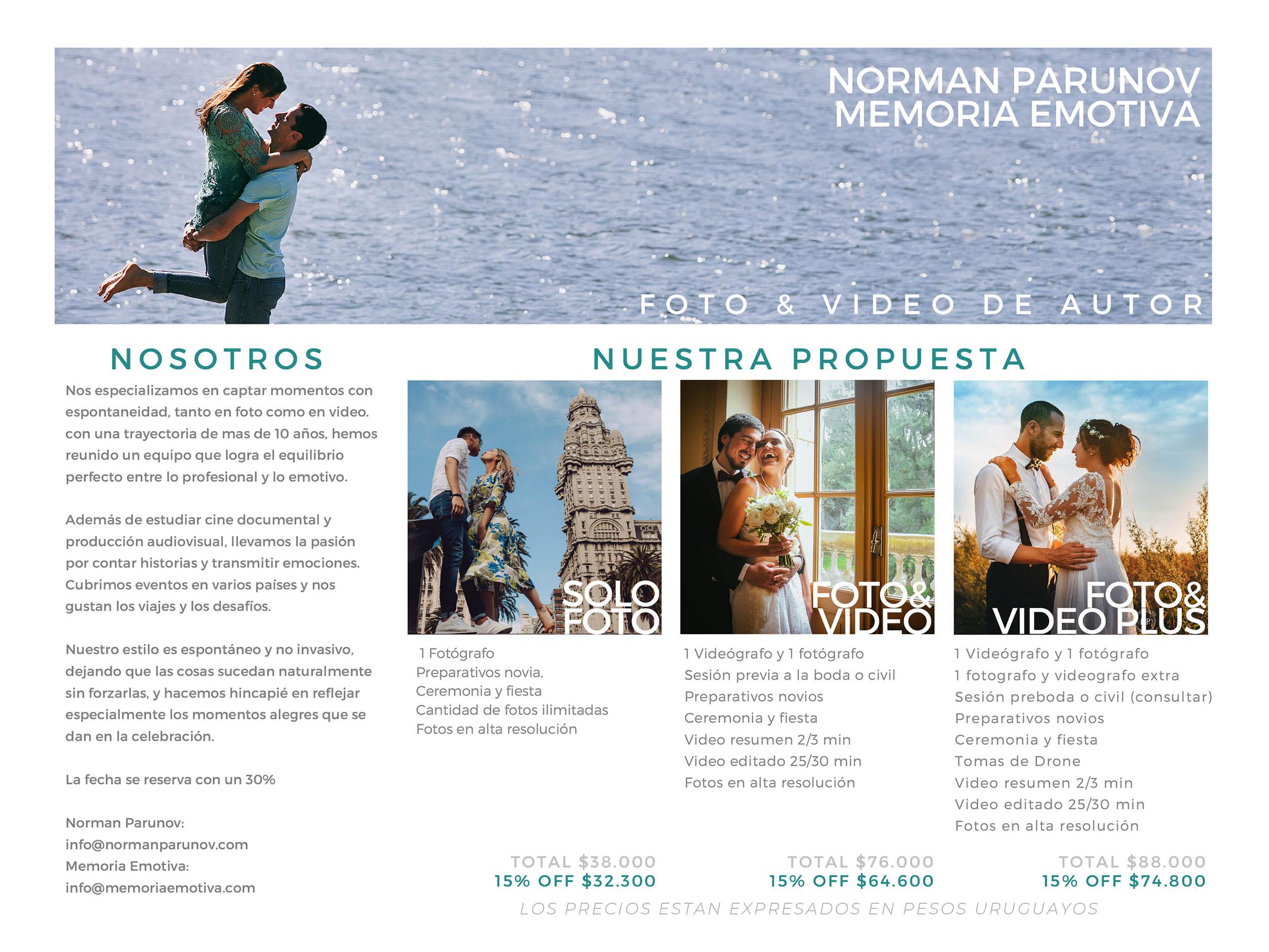 promocion bodas en montevideo uruguay