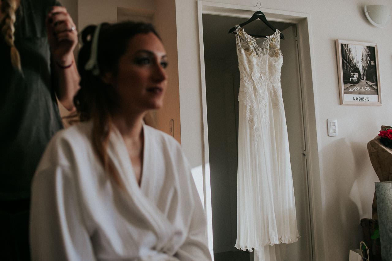 Getting ready - Vestido de novia - Boda en La Herencia - Buenos Aires