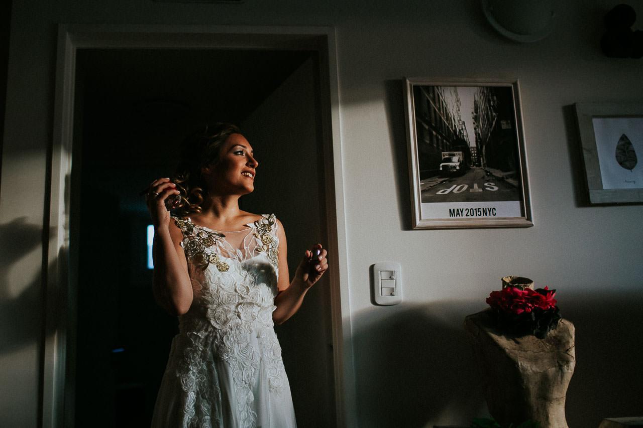 Getting ready - Vestido de novia -Boda en La Herencia - Buenos Aires