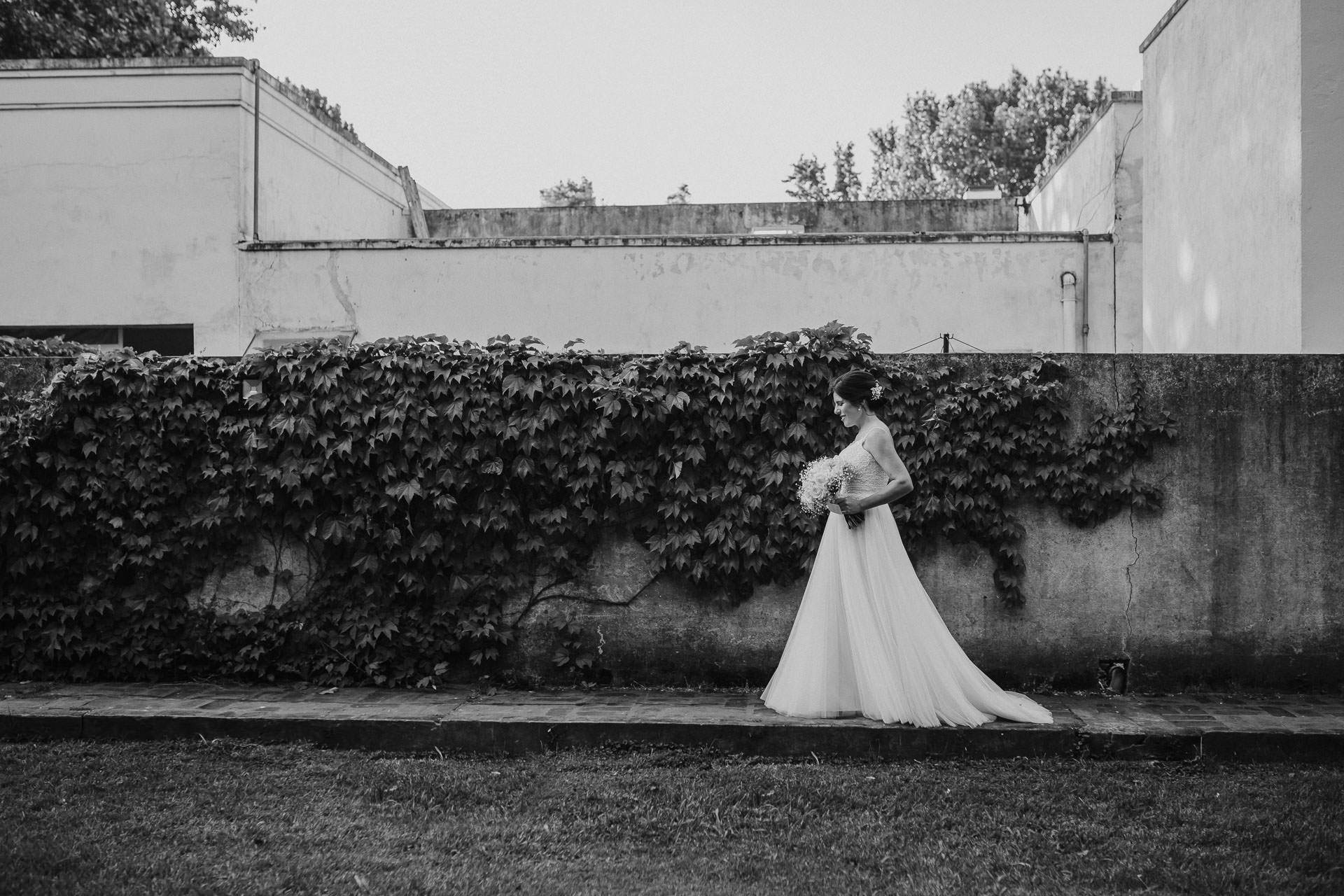 Vestido de novia -Boda en Estancia La Linda, fotógrafo de bodas - Norman Parunov