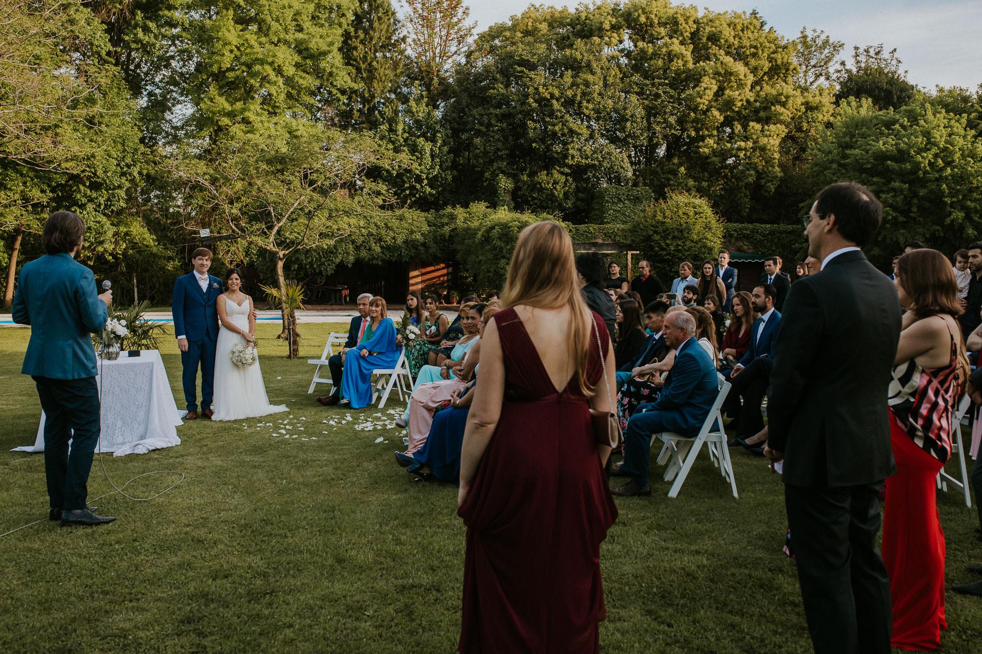Ceremonia -Boda en Estancia La Linda, fotógrafo de bodas - Norman Parunov