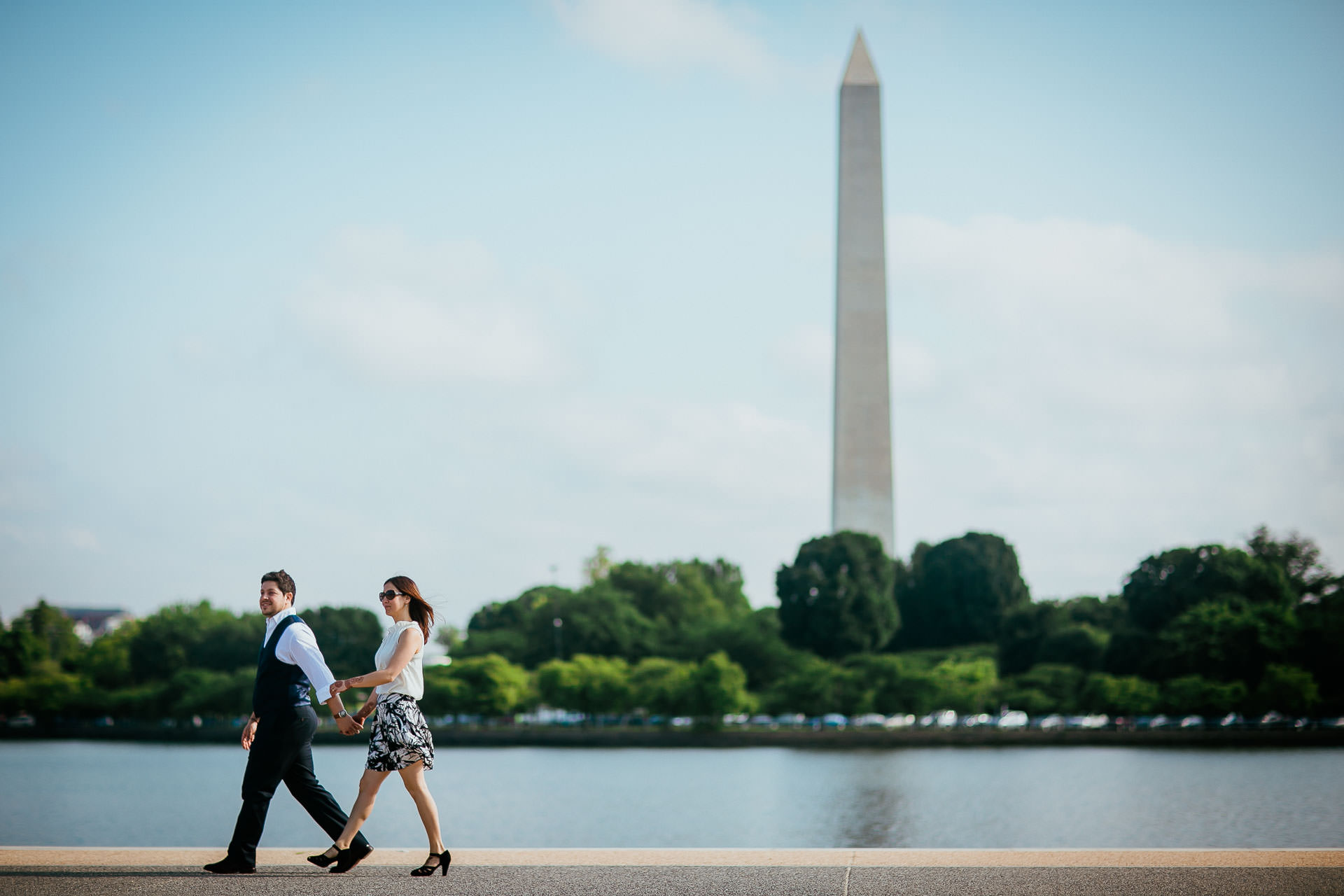 Preboda en Washington DC, fotoperiodismo de bodas, Norman Parunov