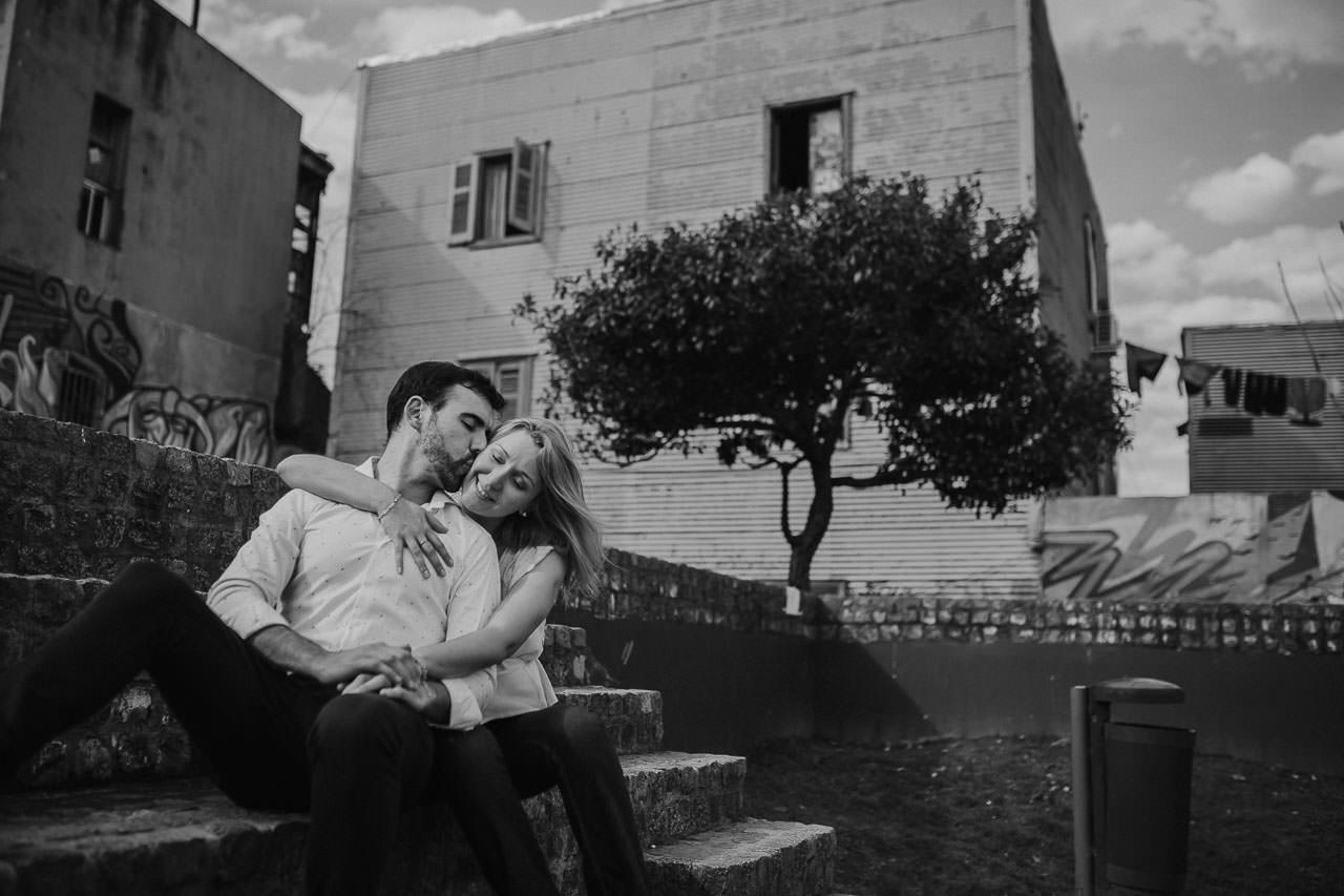 Sesión preboda en Caminito, La Boca, Buenos Aires, fotógrafo de bodas, Norman Parunov