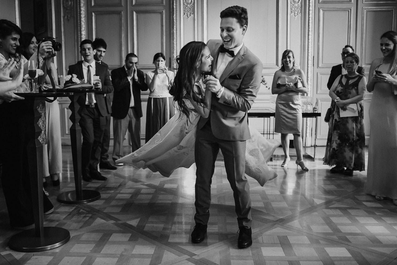 Fiesta de casamiento, boda en el palacio duhau, fotógrafo de bodas, Norman Parunov