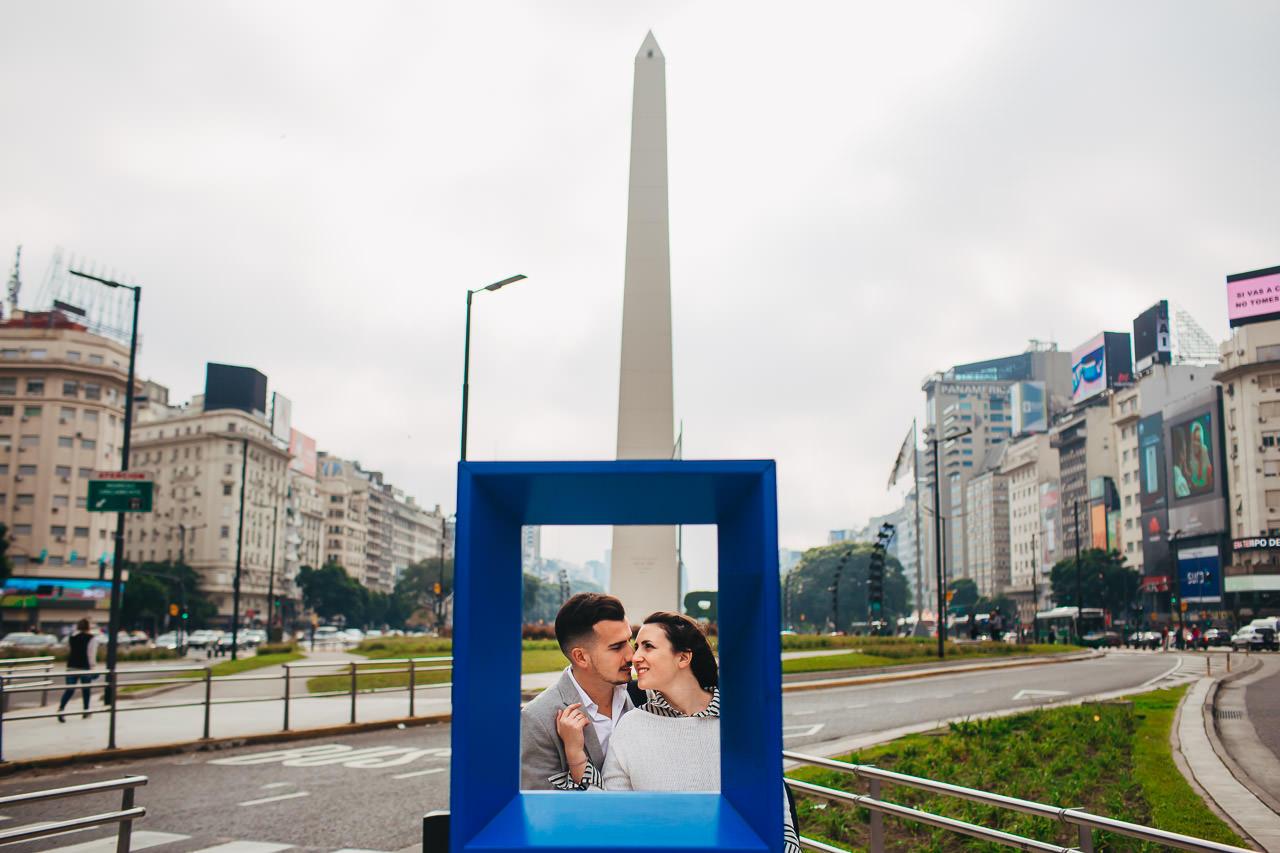 Preboda en Buenos Aires, obelisco, 9 de julio, fotógrafo de bodas, Norman Parunov