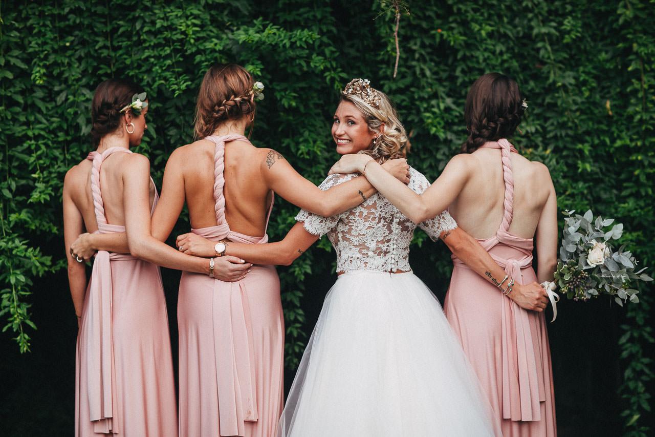Damas de honor, Boda en Estancia La Linda, fotógrafo de casamientos, Norman Parunov