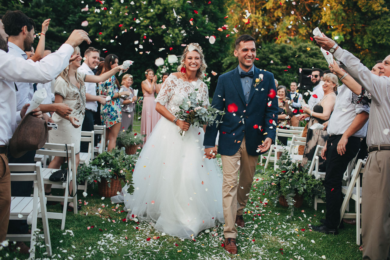 Ceremonia al atardecer, Boda en Estancia La Linda, fotógrafo de casamientos, Norman Parunov
