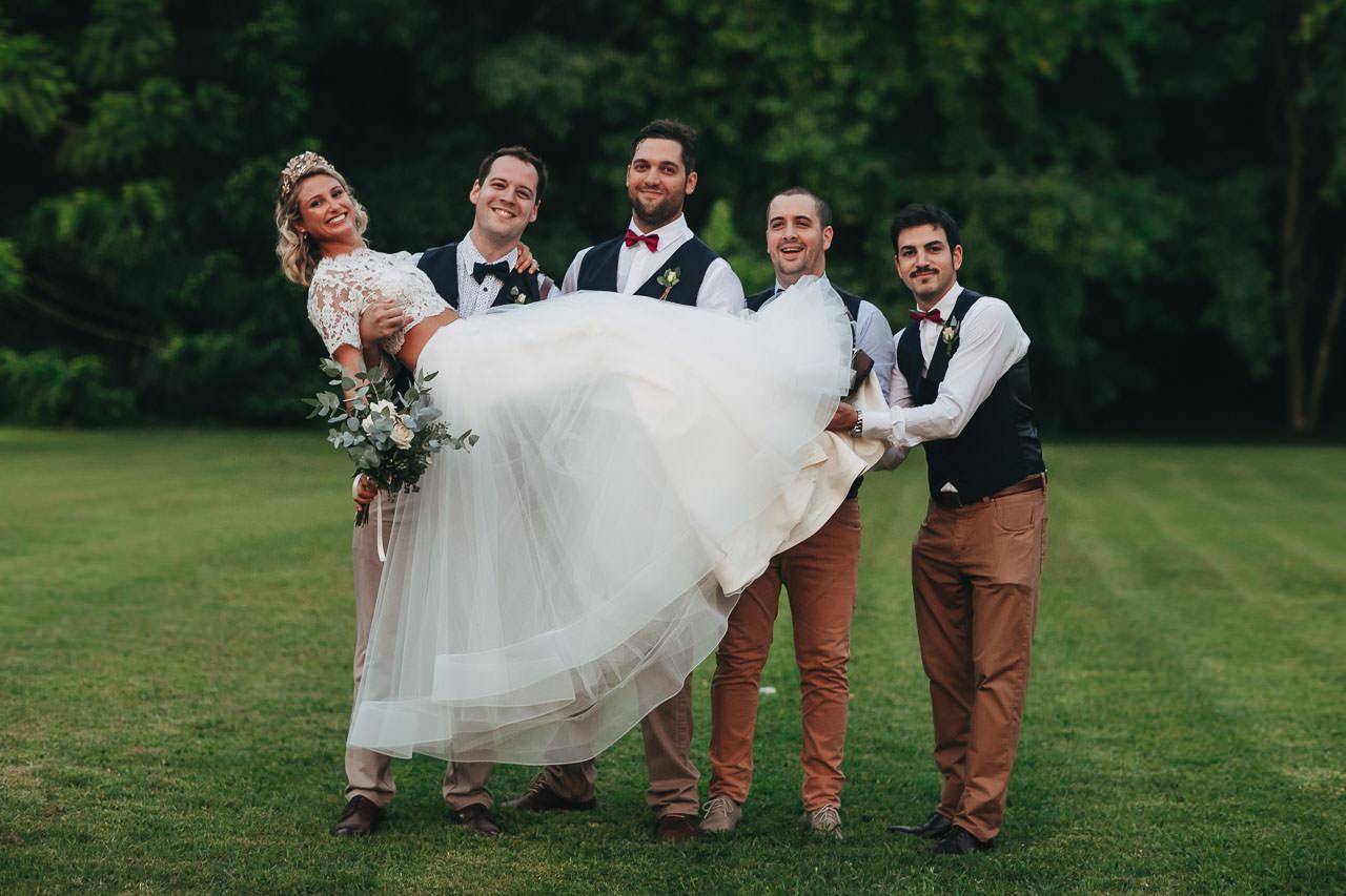 Damas y caballeros de honor, Boda en Estancia La Linda, fotógrafo de casamientos, Norman Parunov